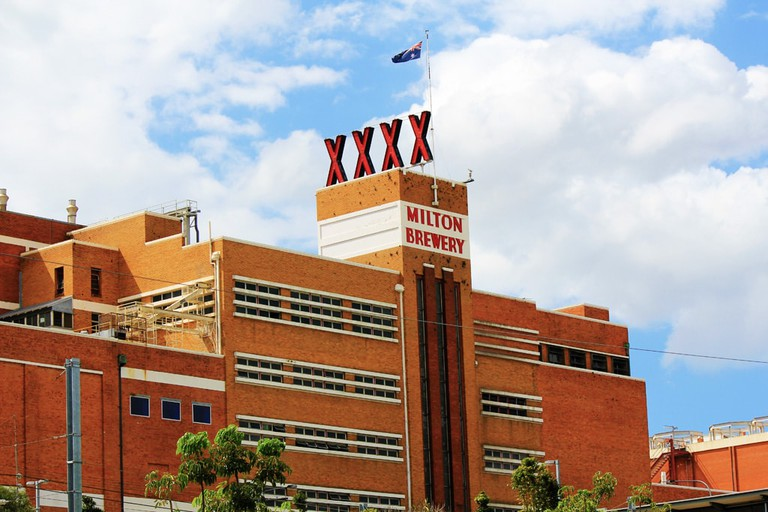 The XXXX Brewery in Milton © Kelly Hunter / Flickr