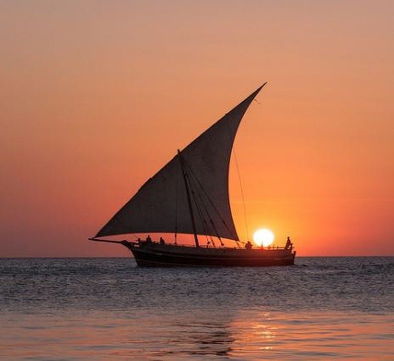 Traditional Arabic dhow