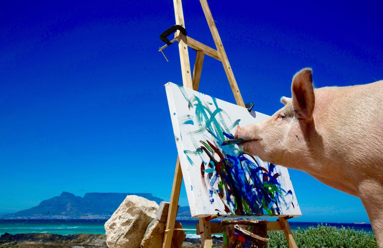 Cape Town's Table Mountain has inspired many artists