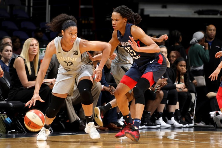 Las Vegas Aces v Washington Mystics