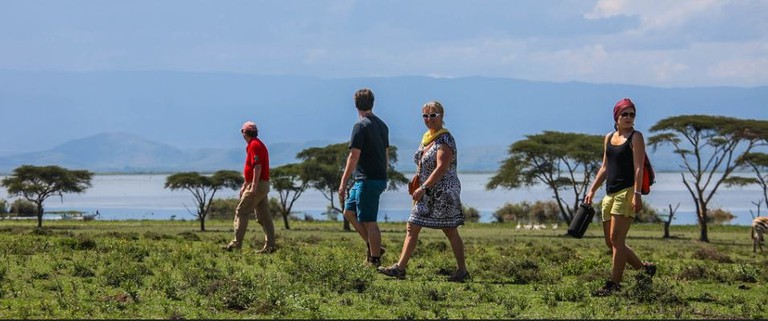 Walking safari in Naivasha, Crescent Island Game Park