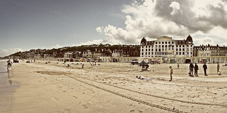 Deauville Normandy France Sea Trouville Beach