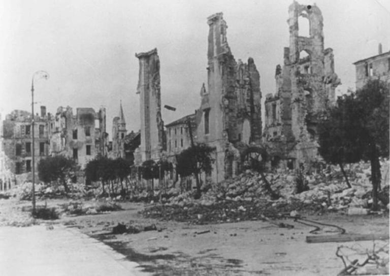 Belgrade was absolutely flattened in World War II