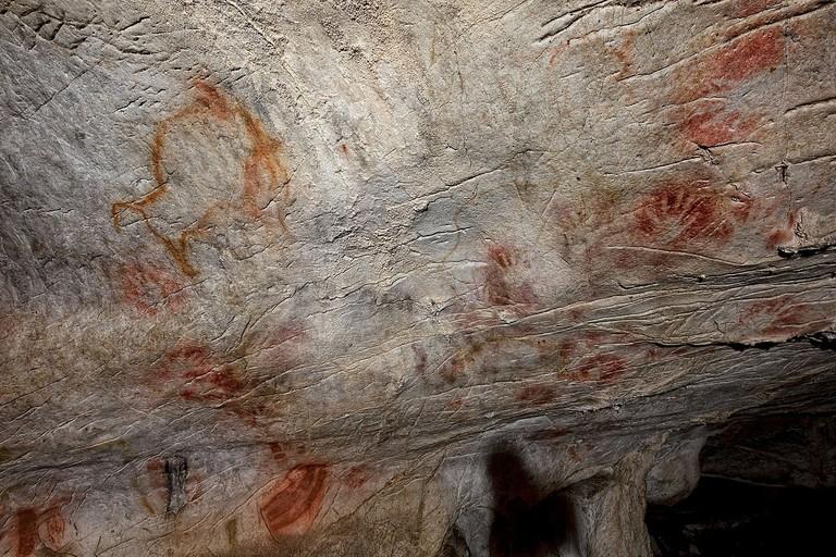 Cueva del Castillo, Spain