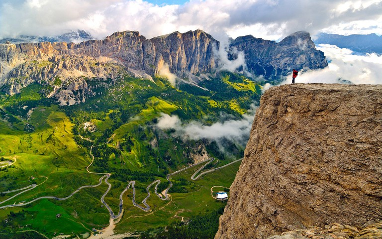 Trekking and biking are great ways to take in the beauty of South Tyrol