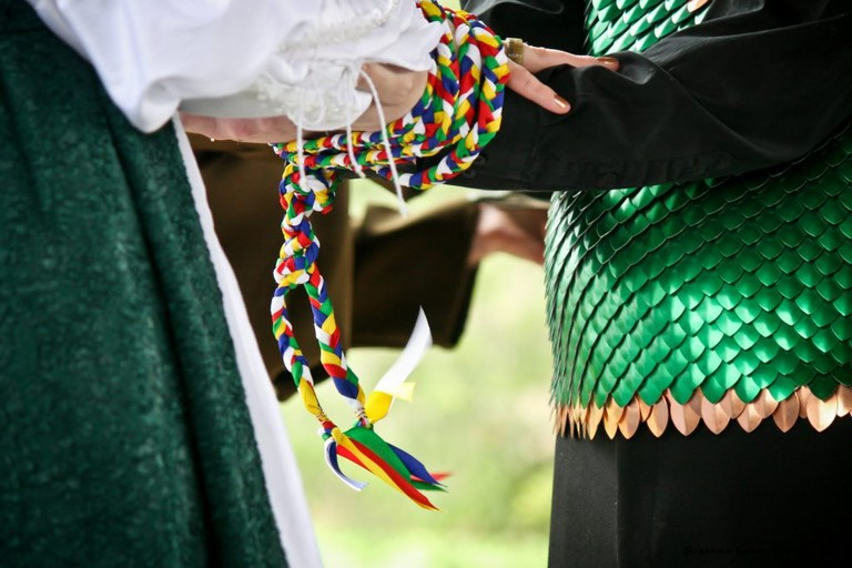 Handfasting Wedding Ceremony
