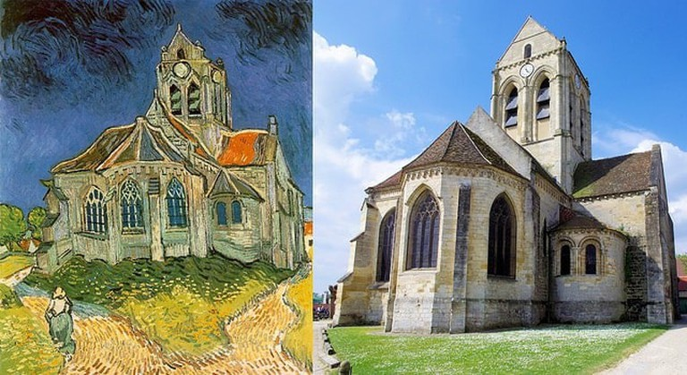 'The Church at Auvers', Vincent Van Gogh, Auvers-sur-Oise