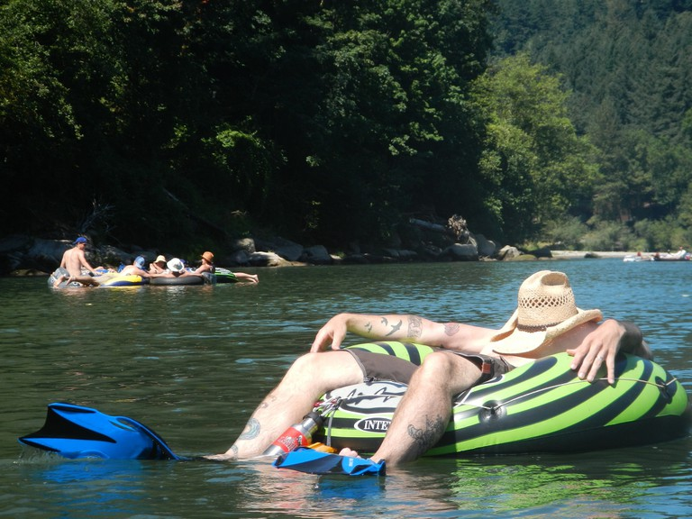 The Upper Sandy River is a great float in close proximity to Portland