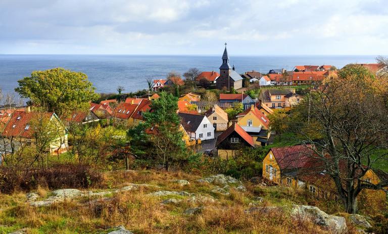 Bornholm-Gudhjem-Denmark-Baltic