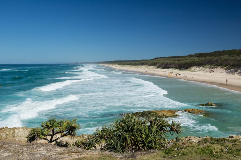 Point Lookout on North Stradbroke Island