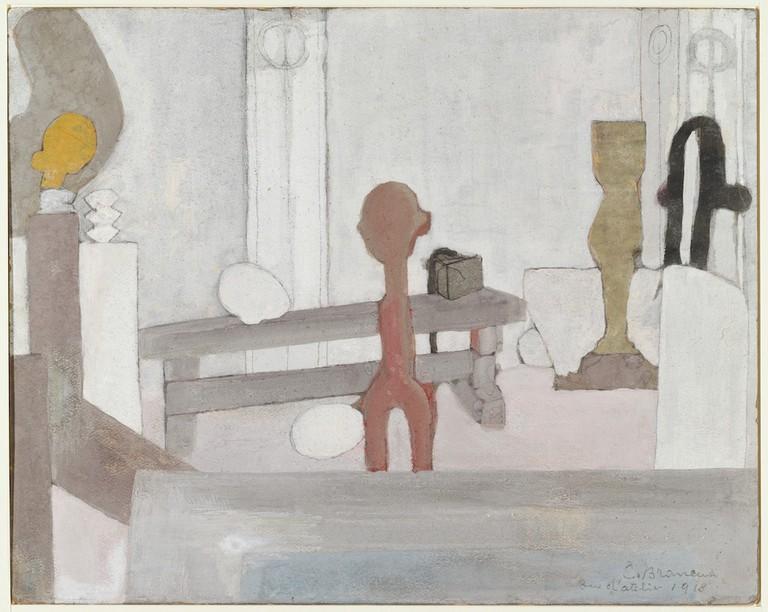 Constantin Brancusi, 'View of the Artist's Studio' (1918)