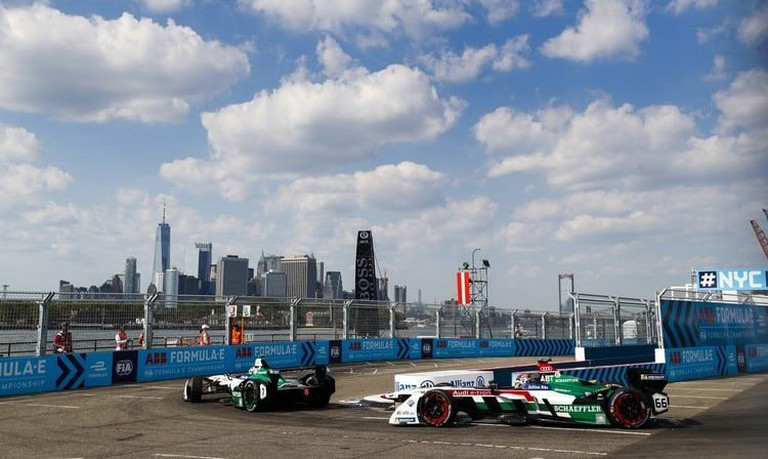 The Formula E season concluded with a doubleheader in NYC