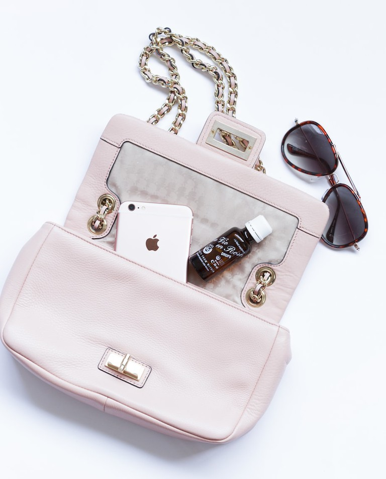 Rose accented accessories