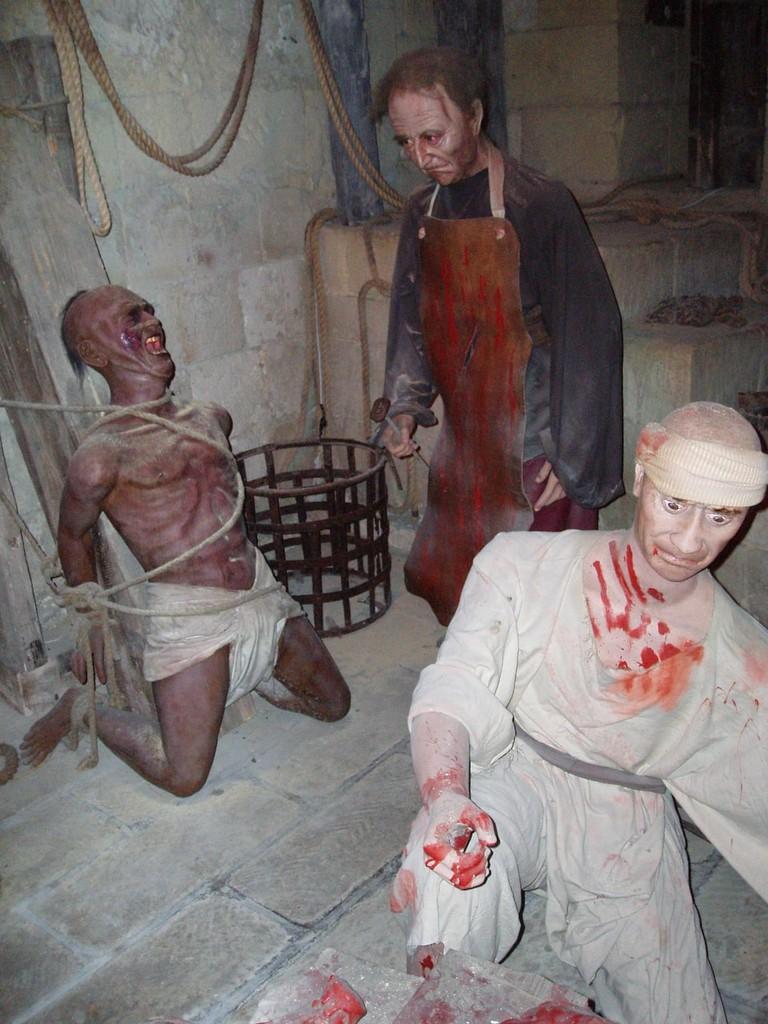Mdina dungeons - torture