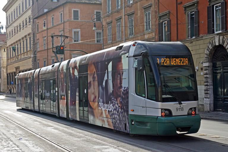 Tram 8 Rome