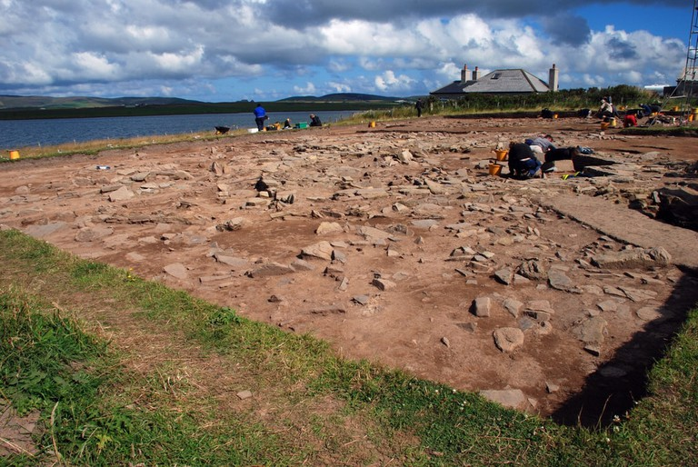 Archeological Dig On Orkney