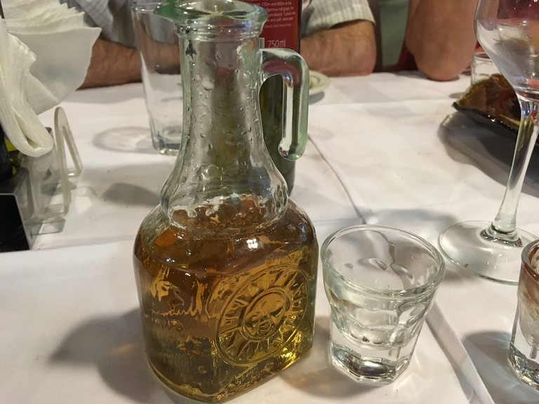Raki is the tasty traditional liquor consumed in the Balkan Peninsula