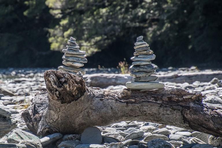 River Cairns, New Zealand