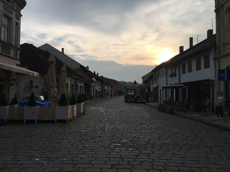 The idyllic old centre of Valjevo, Serbia