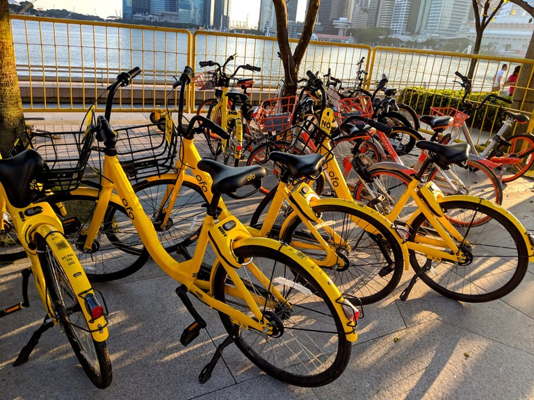 Ofo bikes for hire | © Cliffano Subagio/Flickr