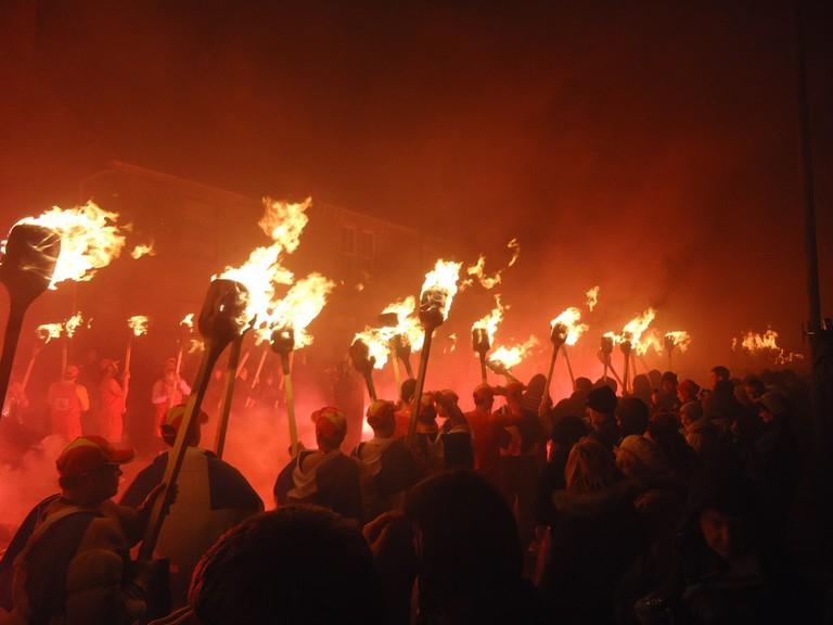 Up Helly Aa Shetland Fire Festival
