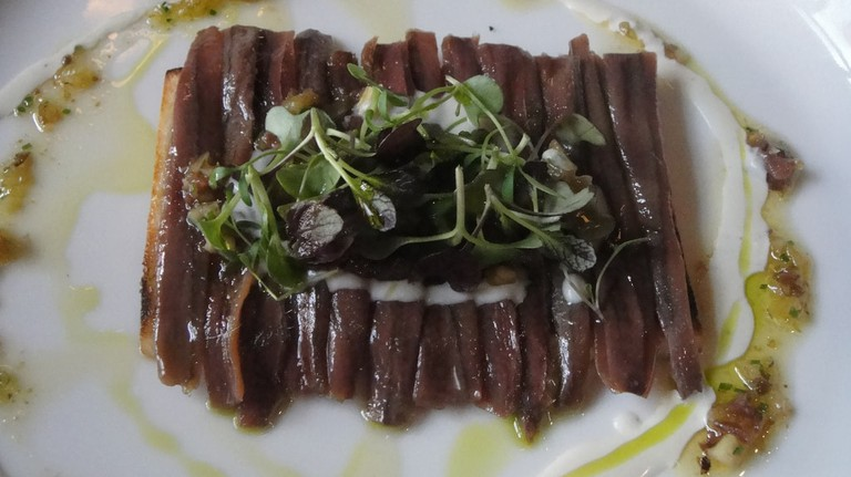 Anchovies from Cantabria