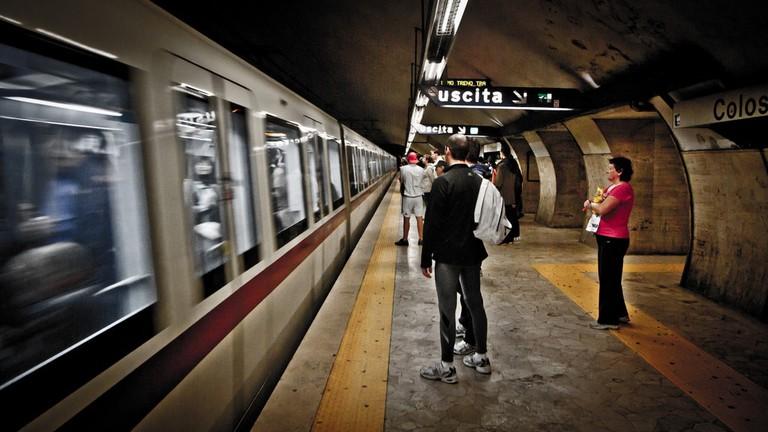 Metro B Rome