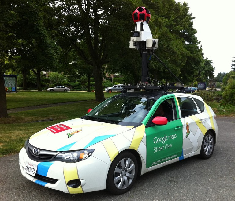 Google Street View Cars-Air Quality-Pollution-Copenhagen