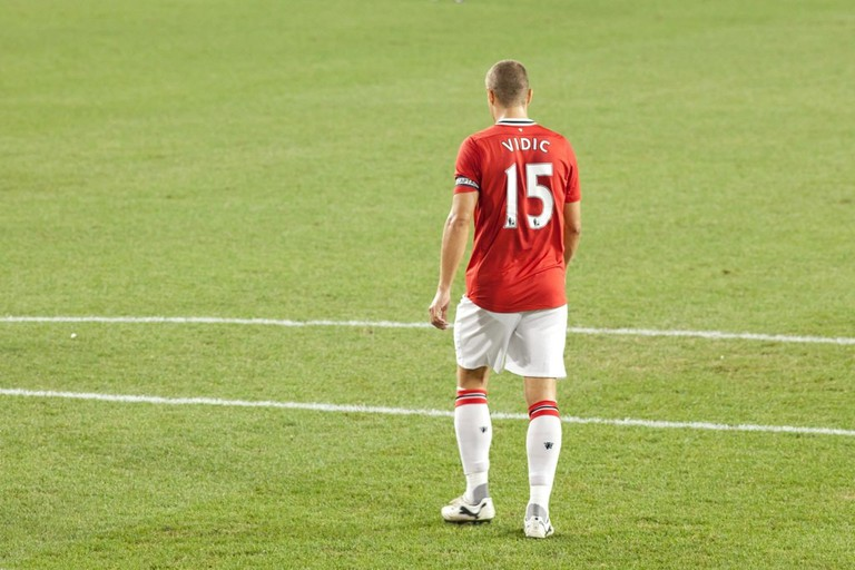 Nemanja Vidić is a Manchester United legend