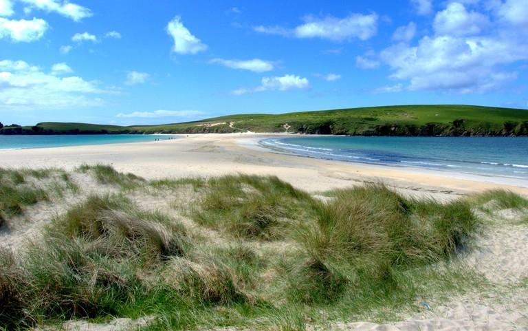 Beach At St Ninian's Isle, Shetland