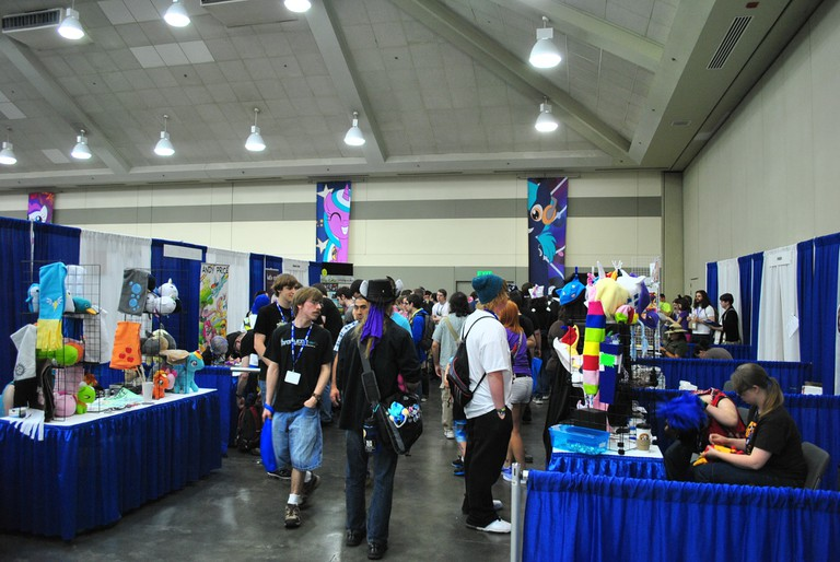Vendors, BronyCon, Baltimore, Maryland