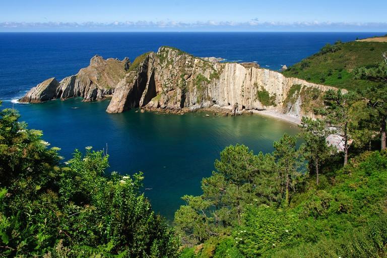 Playa del Silencio, Spain