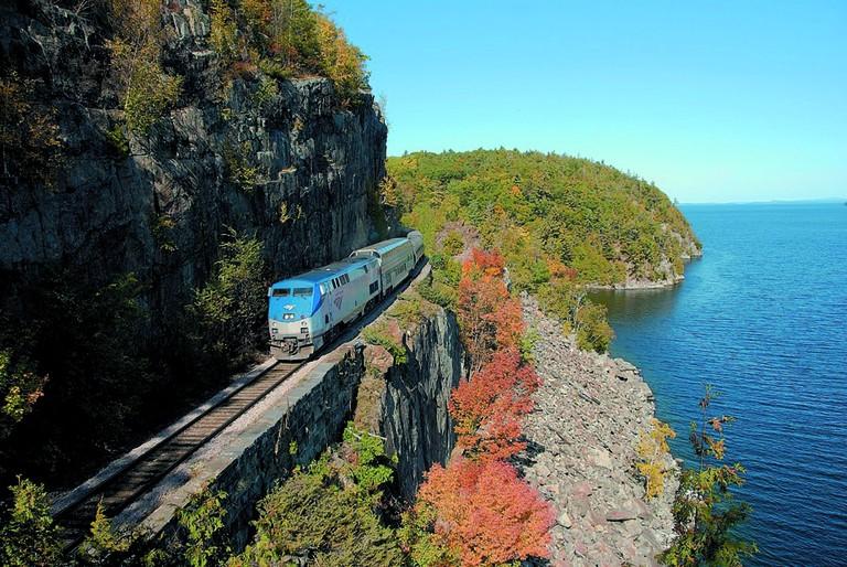Adirondack-HDR-cliff