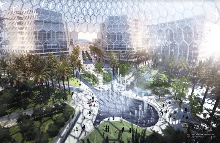 expo 2020 dubai al wasl plaza
