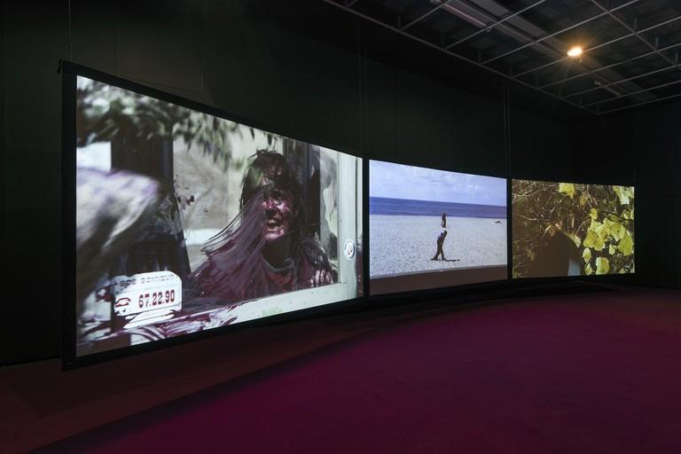 Agnès Varda, '3 moving images. 3 rhythms. 3 sounds', 2018