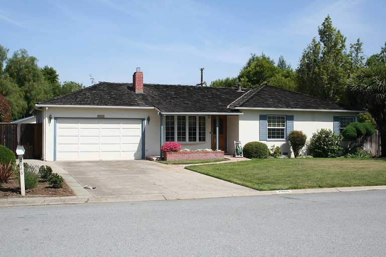 The garage of Steve Jobs's parents house where Apple was founded