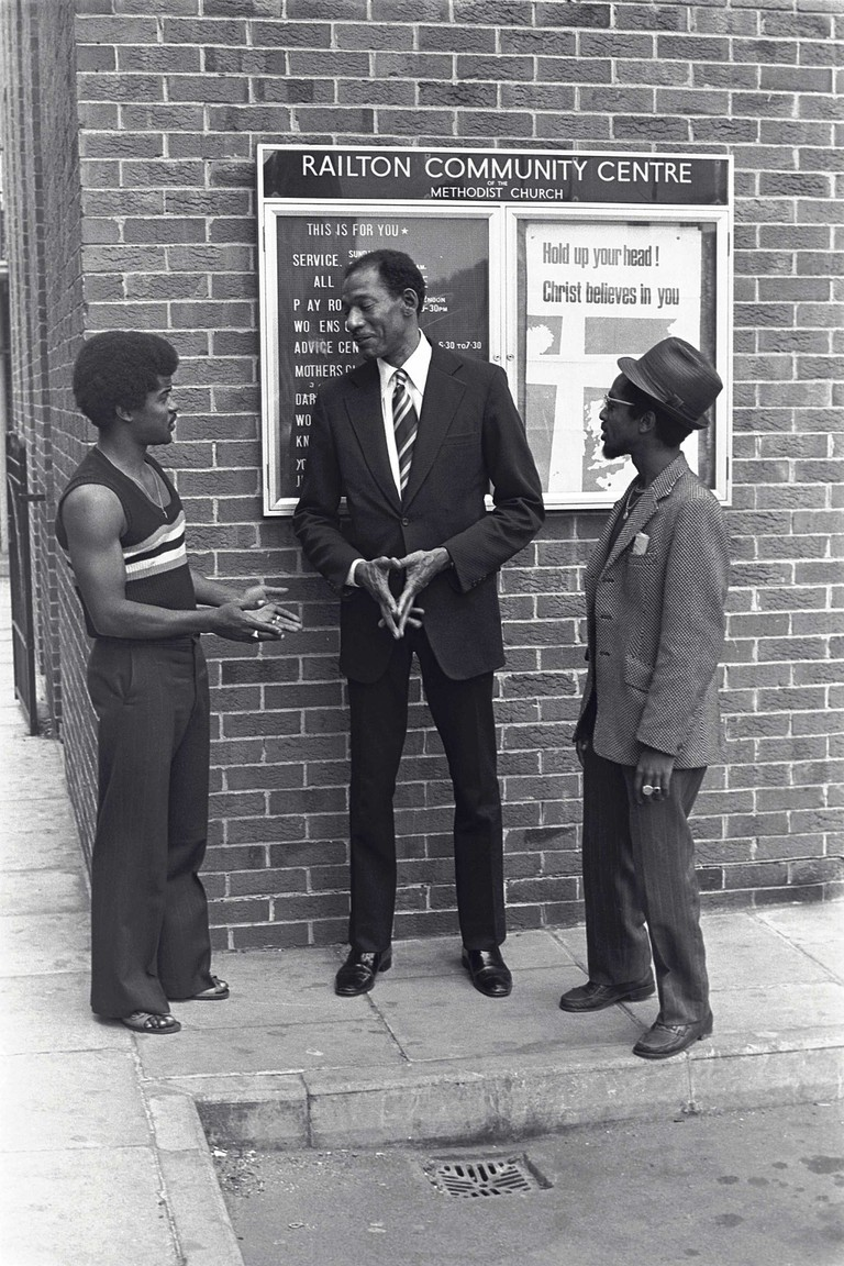 Arthur Stanley Wint OD MBE (first Jamaican Olympic gold medallist and Jamaica's High Commissioner) © Neil Kenlock