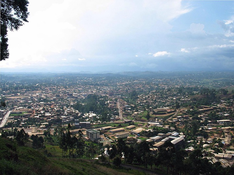 Bamenda town from Station
