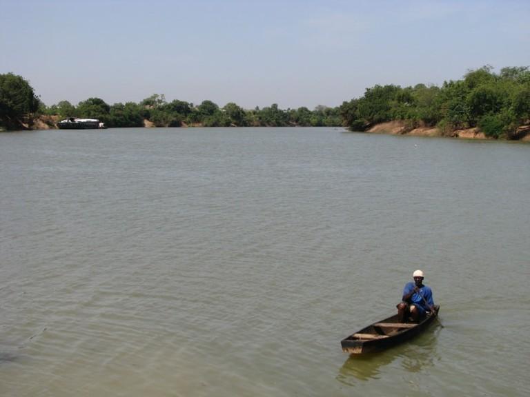 Fisherman in Rural Gambia