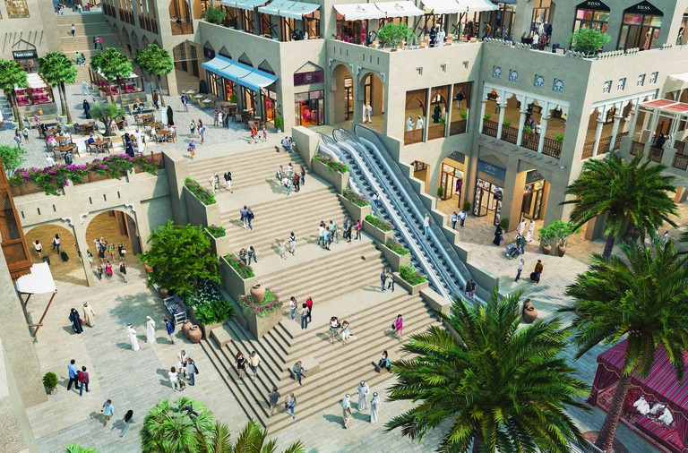 Bastakia Perspective - Dubai Square
