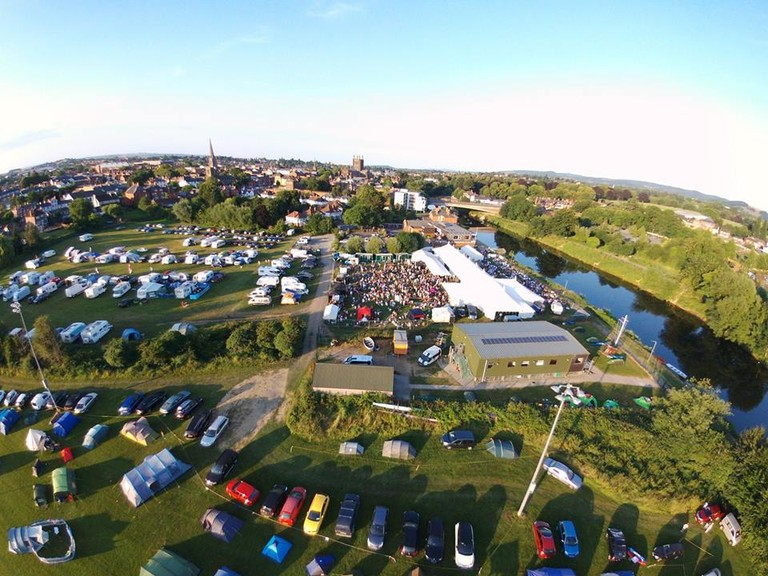 Bird's eye view of Beer on the Wye