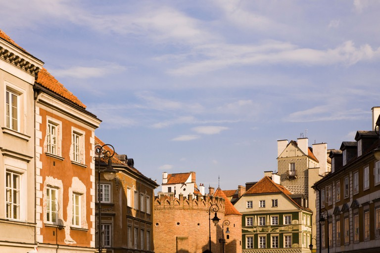 New Town, Warsaw Poland