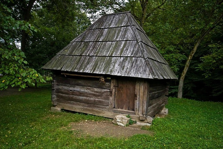 A traditional house in Brankovina