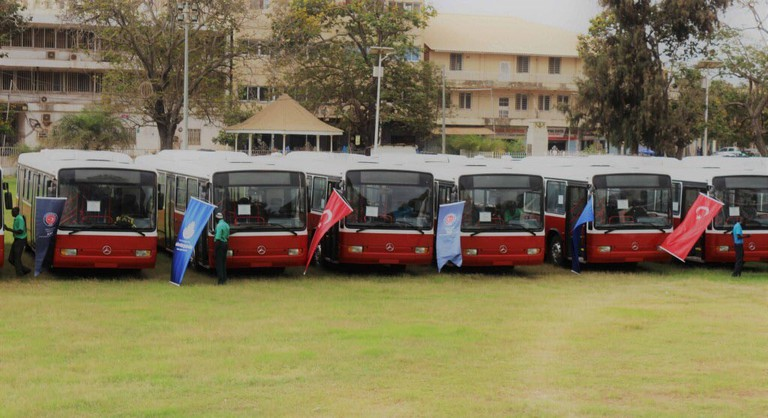 Arrival of New buses