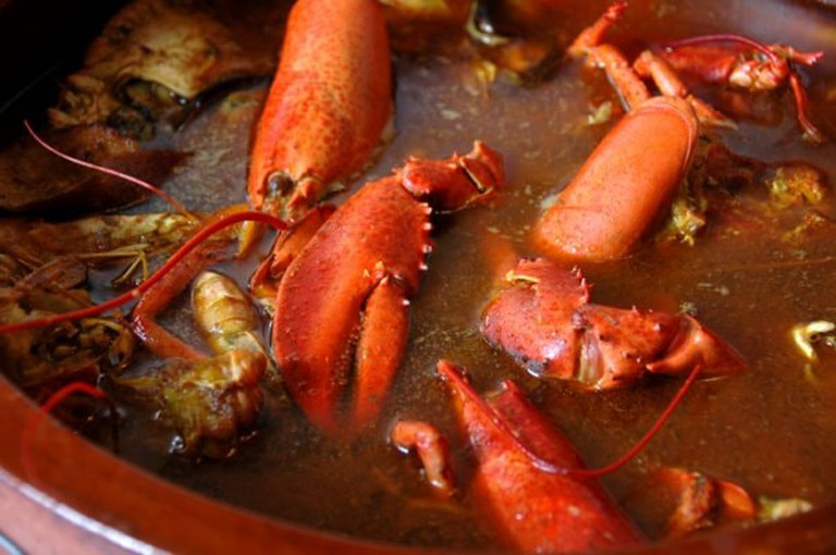 seafood stew from Asturias
