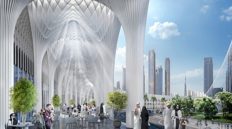 Colonnade - Dubai Square