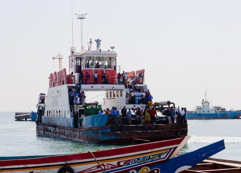 Banjul Barra crossing