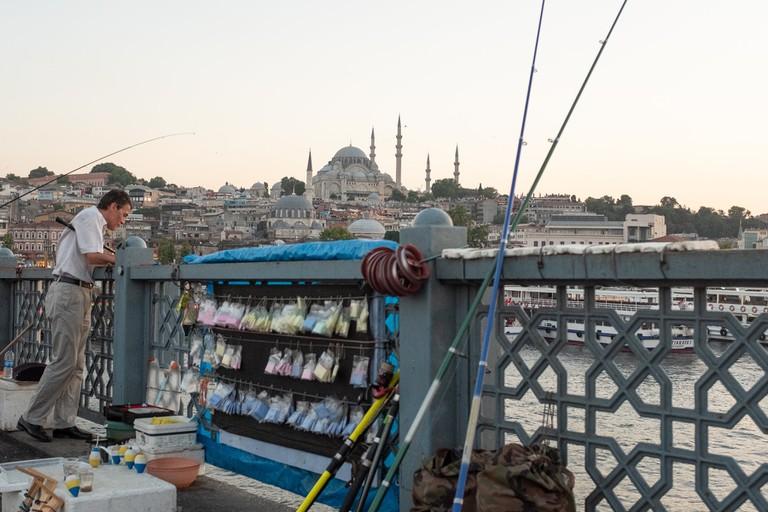 Fisherman of Galata Bridge, Istanbul