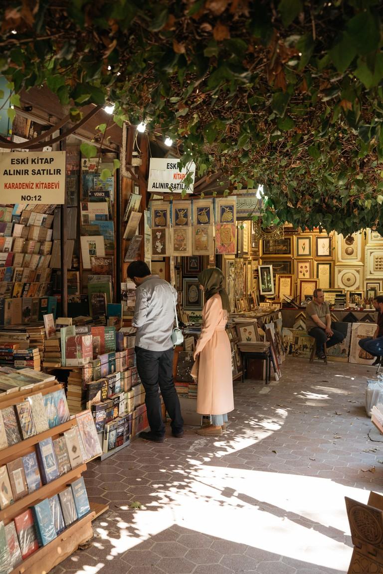 Sahaflar Bazaar, Istanbul