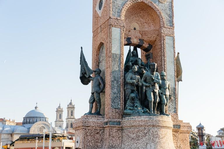 Republic Monument of Taksim Square, Istanbul